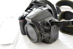 Κάμερα Nikon d3100 Στοκ Εικόνες