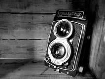 Κάμερα Rolleicord στοκ εικόνες