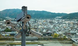 Κάμερες CCTV Στοκ Φωτογραφίες