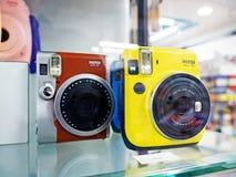 Κάμερες Fujifilm Instax στοκ εικόνα