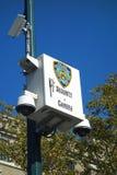 Κάμερες NYPD Στοκ φωτογραφίες με δικαίωμα ελεύθερης χρήσης