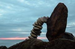 Κάμψη των χαλικιών Στοκ φωτογραφία με δικαίωμα ελεύθερης χρήσης