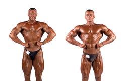 Κάμψη Bodybuilders στοκ εικόνες με δικαίωμα ελεύθερης χρήσης