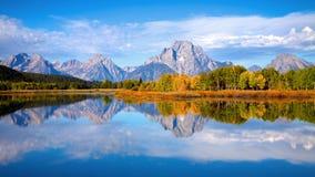 κάμψη oxbow tetons Στοκ εικόνες με δικαίωμα ελεύθερης χρήσης