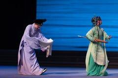 """Κάνετε ένα τόξο με τα χέρια που διπλώνονται σε μπροστινός-Kunqu Opera""""Madame άσπρο Snake† Στοκ Φωτογραφίες"""