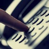 Κάνετε μια κλήση Στοκ Φωτογραφία