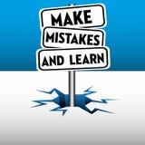 Κάνετε τα λάθη και μάθετε απεικόνιση αποθεμάτων