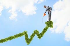 Κάνετε το εισόδημά σας να αυξηθεί Στοκ Εικόνες
