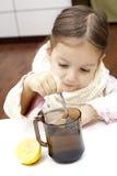 κάνετε το τσάι Στοκ Εικόνες