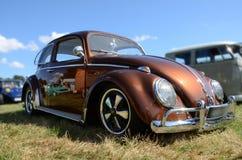 Κάνθαρος της VW από το δεύτερο πόλεμο στο μουσείο SinsHeim Στοκ Εικόνες