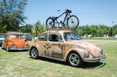 Κάνθαρος του Volkswagen Grunge Στοκ φωτογραφία με δικαίωμα ελεύθερης χρήσης