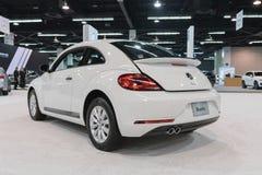 Κάνθαρος τούρμπο του Volkswagen στην επίδειξη στοκ φωτογραφία με δικαίωμα ελεύθερης χρήσης