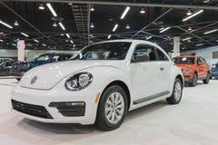 Κάνθαρος τούρμπο του Volkswagen στην επίδειξη στοκ φωτογραφίες με δικαίωμα ελεύθερης χρήσης