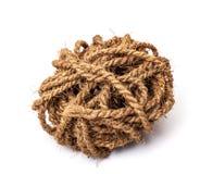 Κάνναβη rope Στοκ Φωτογραφίες