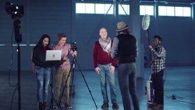 Κάνοντας διαδικασία Blog απόθεμα βίντεο