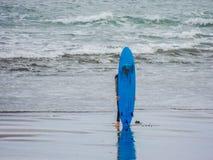 Κάνοντας σερφ στο Maori κόλπο Maukatia και την παραλία Muriwai, Ώκλαντ, Νέα Ζηλανδία στοκ φωτογραφίες
