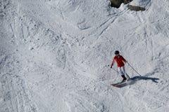 Κάνοντας σκι συριστήρας Π.Χ. Καναδάς στοκ εικόνες με δικαίωμα ελεύθερης χρήσης