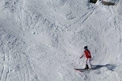 Κάνοντας σκι συριστήρας Π.Χ. Καναδάς στοκ εικόνα