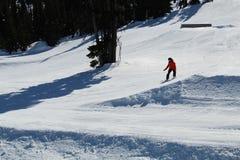 Κάνοντας σκι συριστήρας Π.Χ. Καναδάς κλίσεων στοκ φωτογραφίες με δικαίωμα ελεύθερης χρήσης