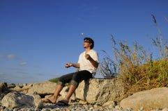κάνοντας ταχυδακτυλο&upsil στοκ φωτογραφία με δικαίωμα ελεύθερης χρήσης