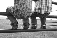 Κάουμποϋ αδελφών Στοκ φωτογραφίες με δικαίωμα ελεύθερης χρήσης