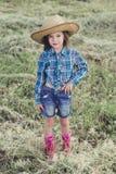 Κάουμποϋ μικρών κοριτσιών Στοκ φωτογραφία με δικαίωμα ελεύθερης χρήσης