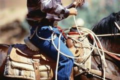 Κάουμποϋ στο άλογο Στοκ φωτογραφία με δικαίωμα ελεύθερης χρήσης