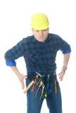 κάουμποϋ handyman στοκ εικόνες