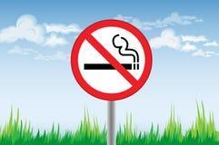 κάπνισμα απαγόρευσης Στοκ εικόνα με δικαίωμα ελεύθερης χρήσης
