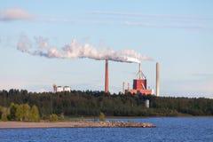 κάπνισμα ισχύος φυτών καπνοδόχων Στοκ Εικόνα