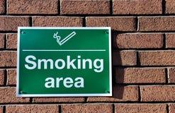 κάπνισμα σημαδιών Στοκ εικόνες με δικαίωμα ελεύθερης χρήσης