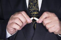 Κάπνισμα στάσεων Στοκ φωτογραφία με δικαίωμα ελεύθερης χρήσης