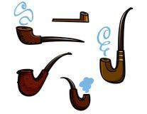 κάπνισμα σωλήνων ελεύθερη απεικόνιση δικαιώματος