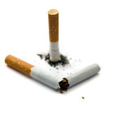 κάπνισμα Στοκ εικόνα με δικαίωμα ελεύθερης χρήσης