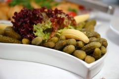 Κάποια ορεκτικά τρόφιμα στοκ φωτογραφίες με δικαίωμα ελεύθερης χρήσης