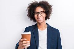 Κάποιος καφές; Στοκ φωτογραφία με δικαίωμα ελεύθερης χρήσης