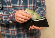 Κάποιο ρωσικό νόμισμα, συμπεριλαμβανομένων των νέων 200 και 2000 λογαριασμών ρουβλιών στοκ φωτογραφία