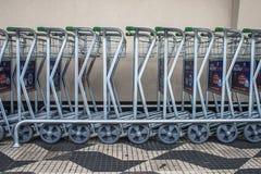 Κάρρα αποσκευών Στοκ Φωτογραφία