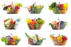 Κάρρο αγορών με το τέλειο προϊόν Στοκ Εικόνες