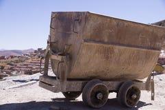 Κάρρο ορυχείου στο Ποτόσι, Βολιβία στοκ φωτογραφίες