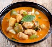 Κάρρυ χοιρινού κρέατος, ταϊλανδική κουζίνα Στοκ Εικόνες