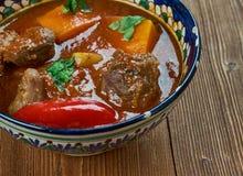 Κάρρυ Vindaloo βόειου κρέατος Στοκ Φωτογραφίες