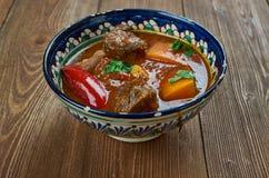 Κάρρυ Vindaloo βόειου κρέατος Στοκ Εικόνα