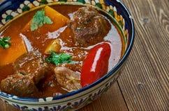 Κάρρυ Vindaloo βόειου κρέατος Στοκ Εικόνες