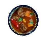 Κάρρυ Vindaloo βόειου κρέατος Στοκ φωτογραφία με δικαίωμα ελεύθερης χρήσης