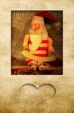 Κάρτα Άγιου Βασίλη Στοκ Εικόνες