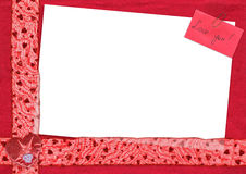 κάρτα αγάπης εσείς Στοκ φωτογραφία με δικαίωμα ελεύθερης χρήσης
