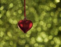 Κάρτα αγάπης Χαρούμενα Χριστούγεννας Στοκ φωτογραφίες με δικαίωμα ελεύθερης χρήσης