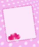 Κάρτα αγάπης ελεύθερη απεικόνιση δικαιώματος
