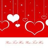 κάρτα αγάπης διανυσματική απεικόνιση